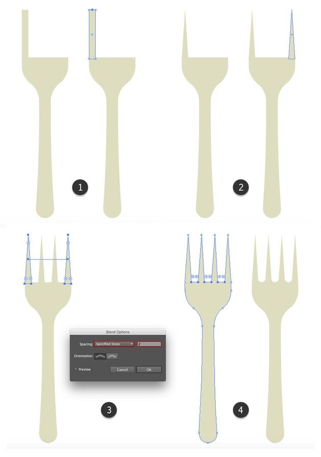 Finishing the fork