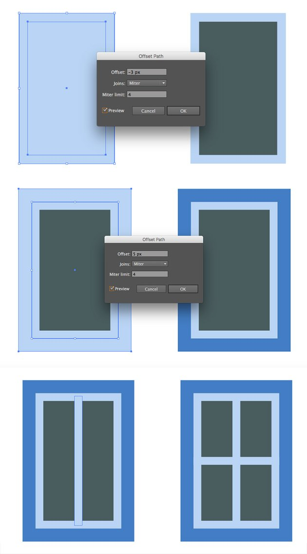 Creating a small window