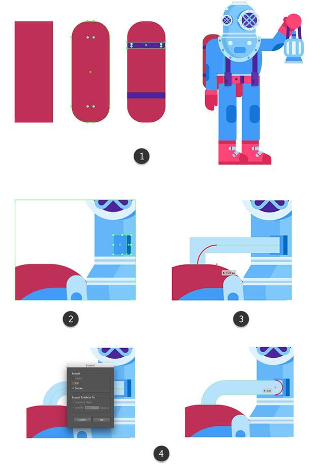 Creating an air tank and tube