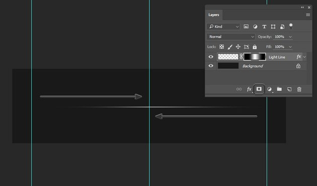 Dragging the Gradient Tool