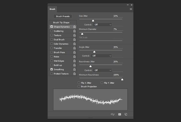 Shape Dynamics settings