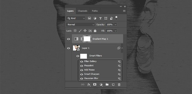 Smart Object and its Smart Filters
