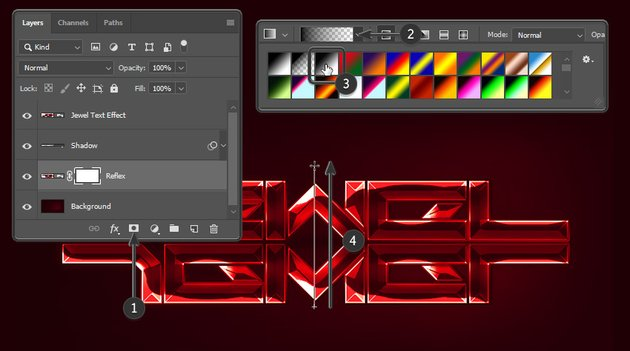 Drawing the gradient mask
