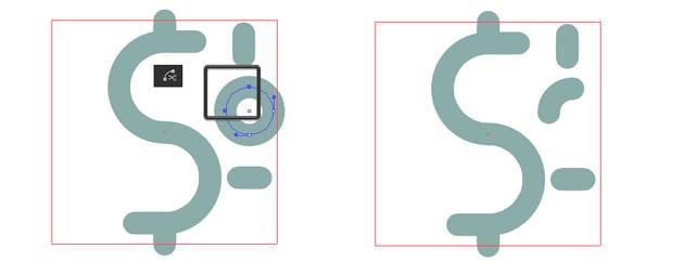 Cut circle at Selected Anchor Points