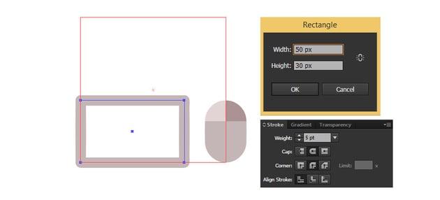 Create a rectangle