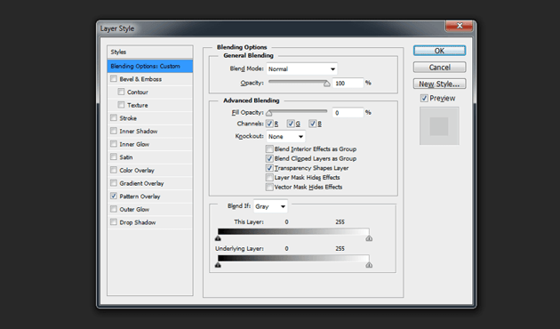 Changing Fill Opacity