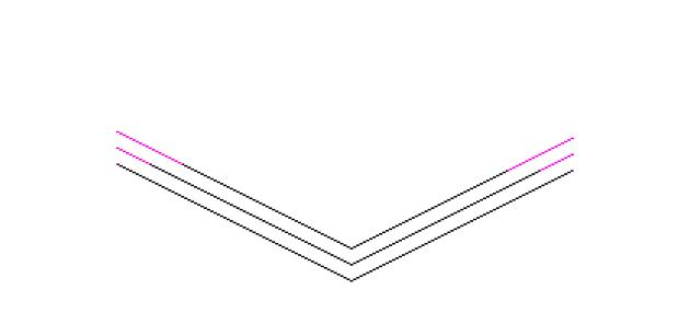 Duplicate L-shape Line