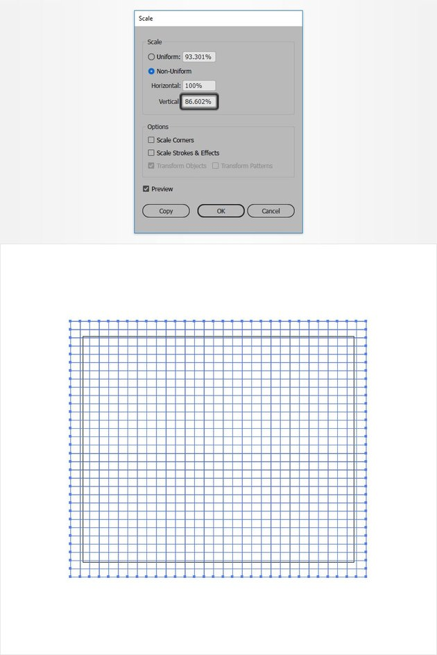Scale the Grid