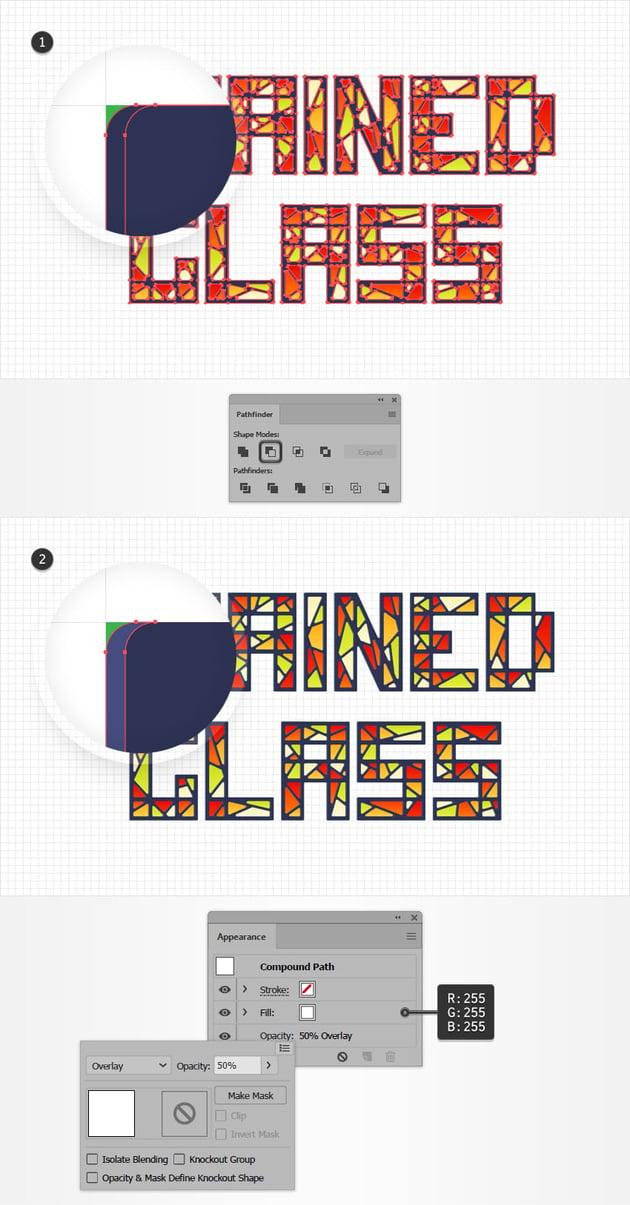 text design highlight