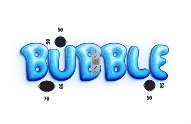 bubble letter font