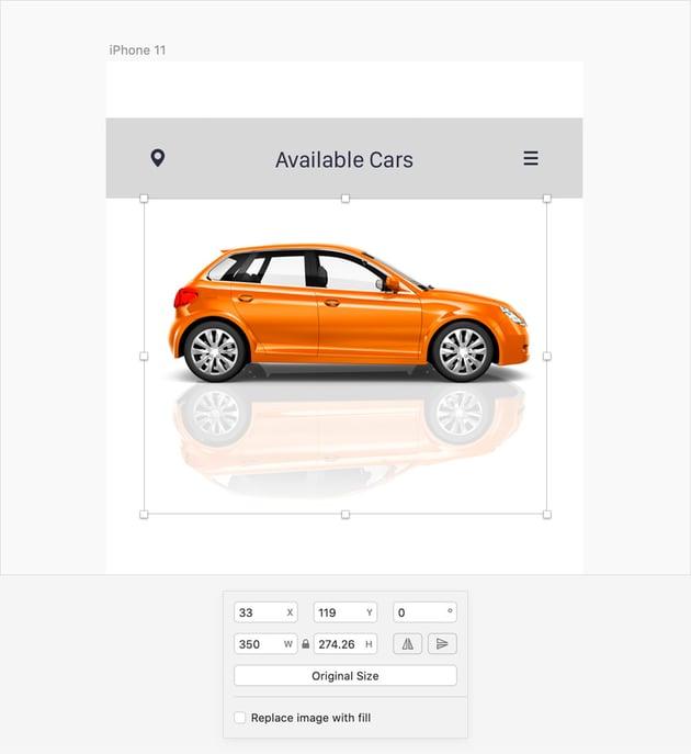 sketch a car
