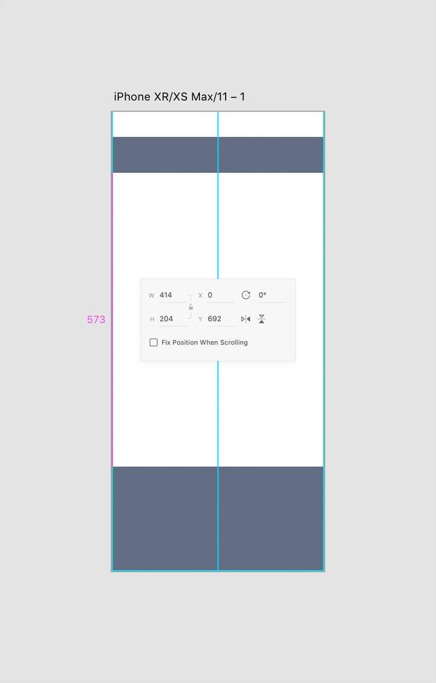 rectangle tool player bar