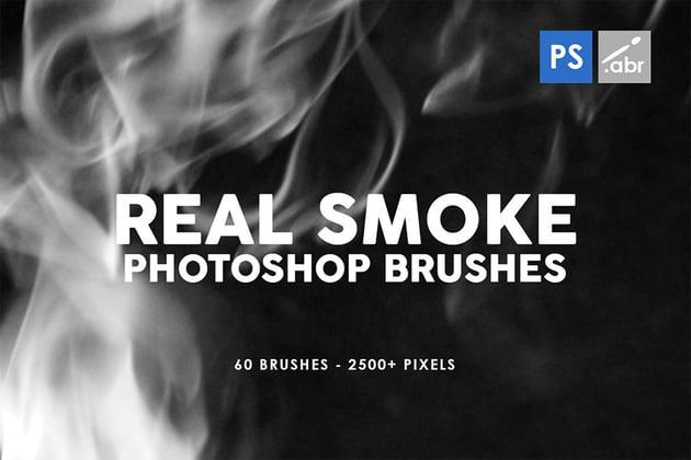 Real Photoshop Smoke Brush Pack