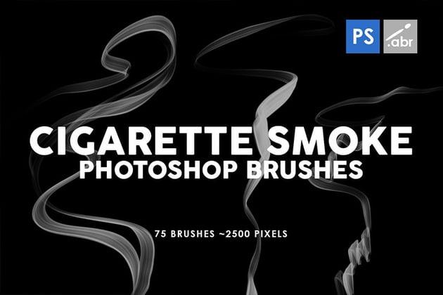 Photoshop Cigarette Smoke Brushes