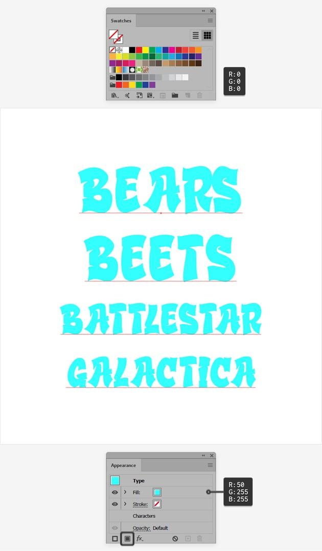 graffiti text font