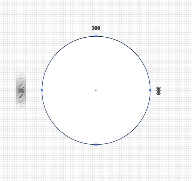 ellipse tool circle
