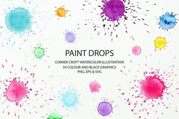 blood splatter brush illustrator