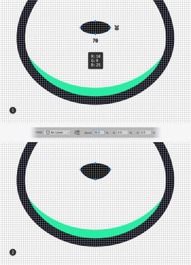 emblem design mascot nose