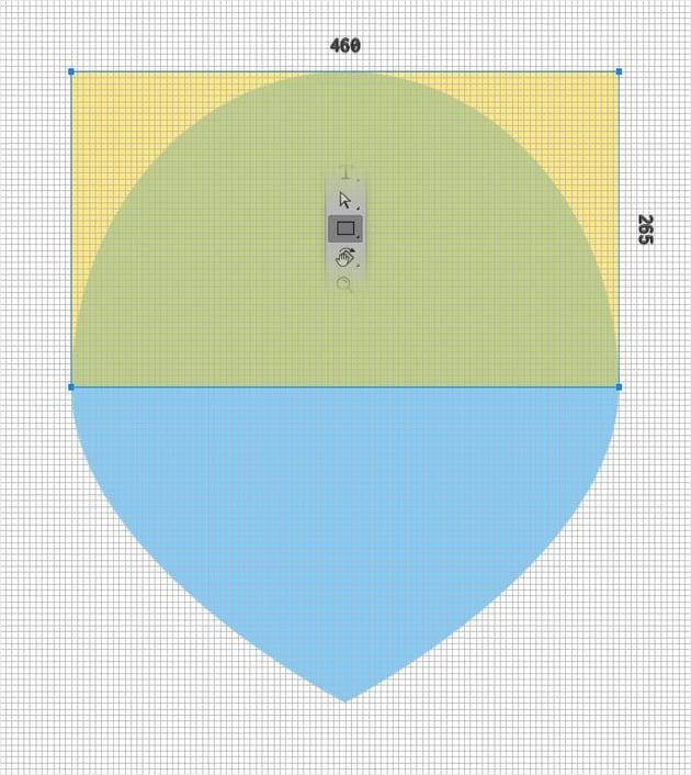 emblem design rectangle