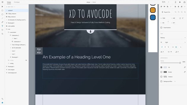 Adobe XD Code