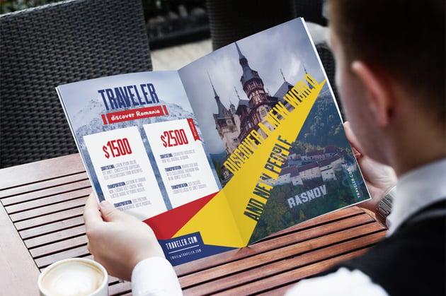 travel pamphlet