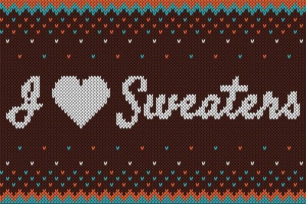 sweater illustration