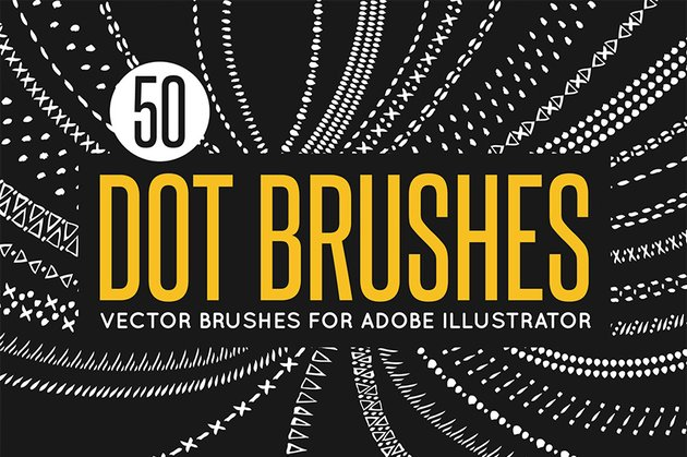 dot brushes