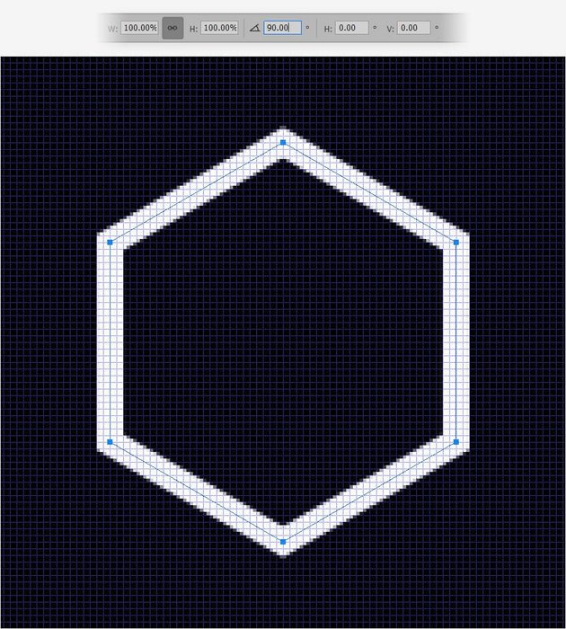 rotate shape