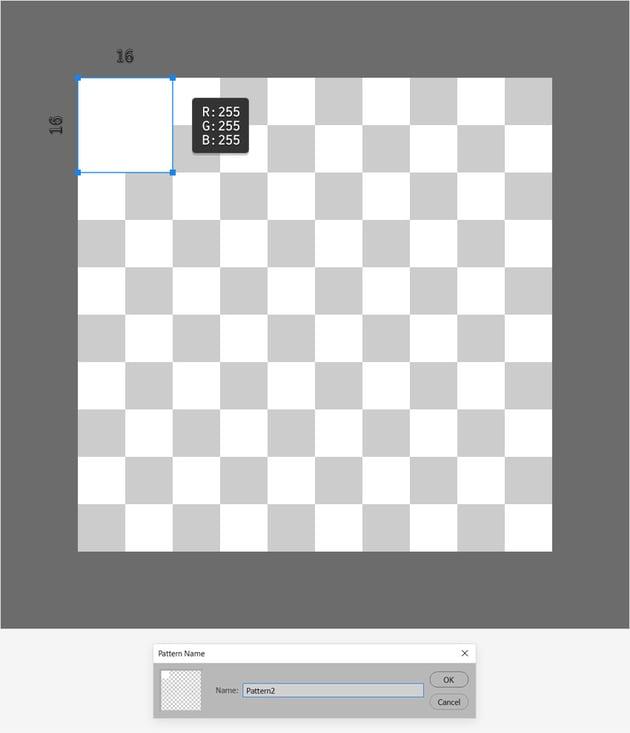 square pattern photoshop