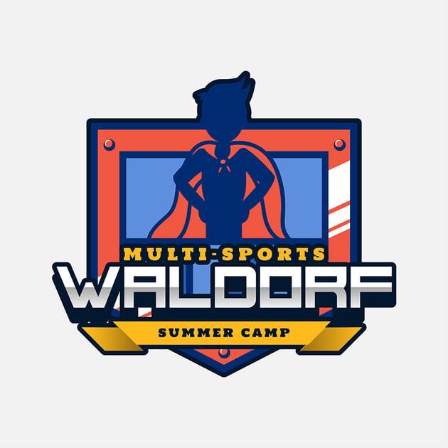 summer camp logo generator