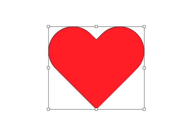 heart shape illustrator