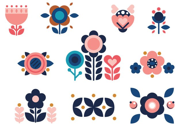All 10 flower compositions