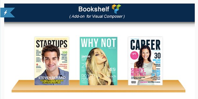 Visual Composer Add-on Bookshelf