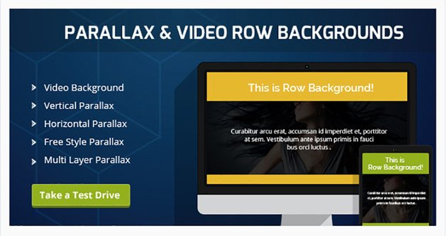 Parallax and Video Backgrounds