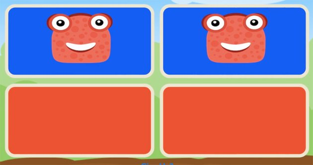 Basic Pairs Memory Game