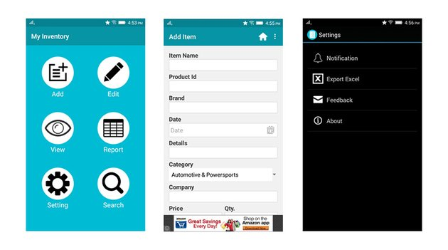 Inventory Management Android App