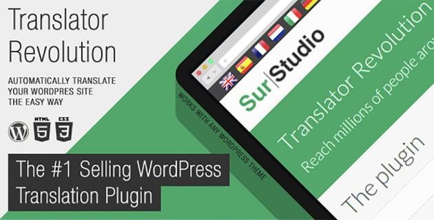 Ajax Translator Revolution WordPress Plugin