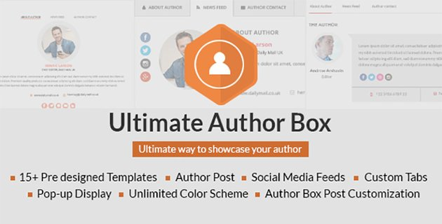 Ultimate Author Box