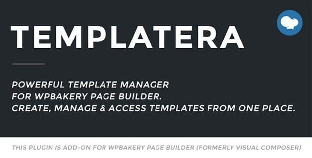 Templatera WPBakery WordPress plugin