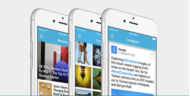 Universal iOS App Layout Template