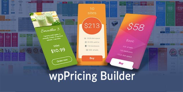 WP Pricing Builder