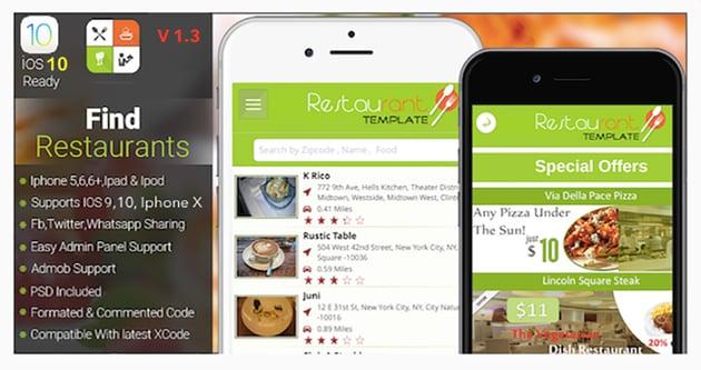 Restaurants Finder