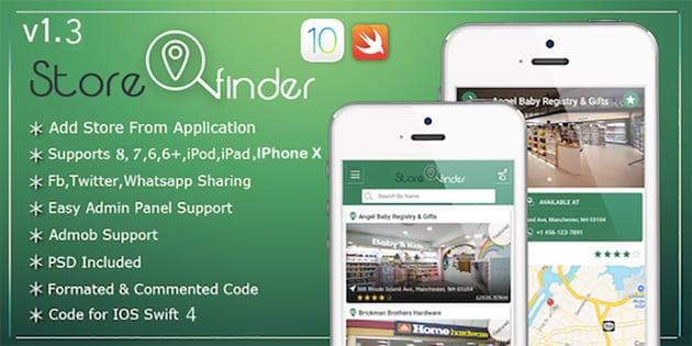 Store Finder IOS