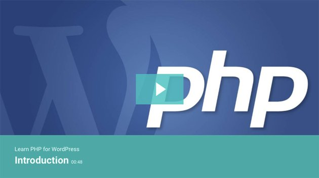 Learn PHP for WordPress