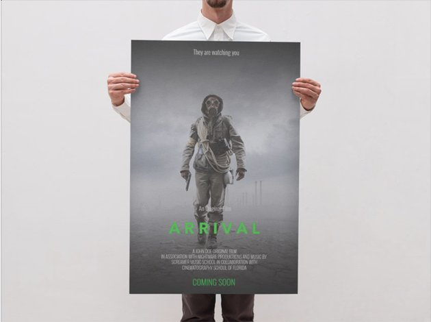 Science Ficton Movie Poster