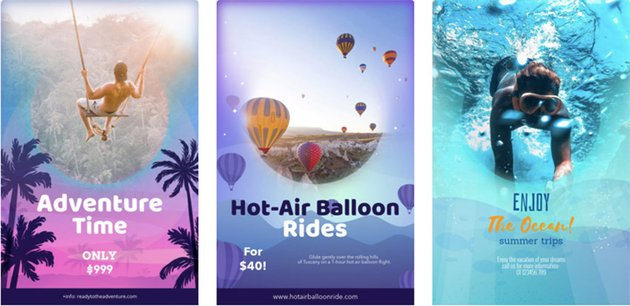 Flyer Maker App for Vacation Packages