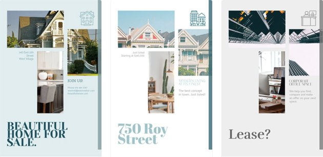 Design Real Estate Flyers