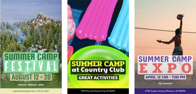 Summer Camp Flyers