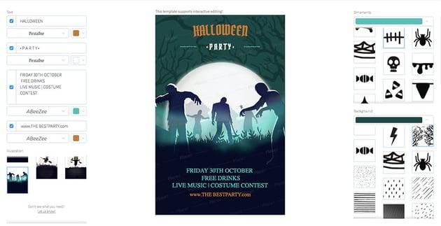 Halloween Online Flyer Maker
