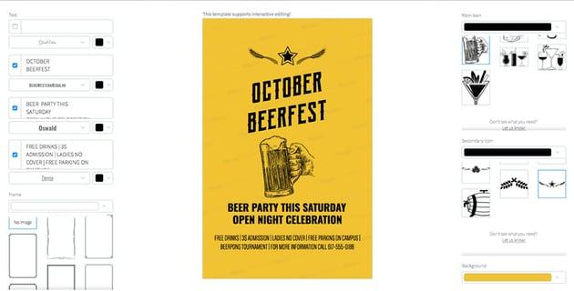 Oktoberfest Party Flyer Template